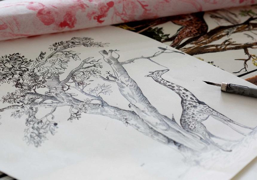 Toile de Jouy Dior disegni 1
