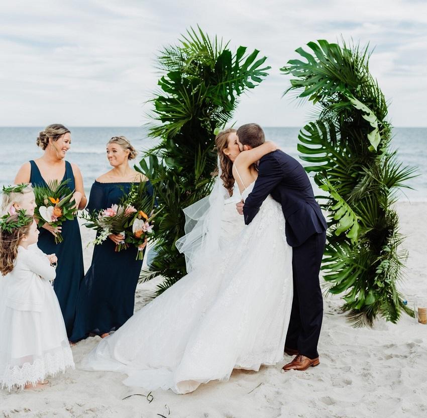 tropical wedding acostalbride 3