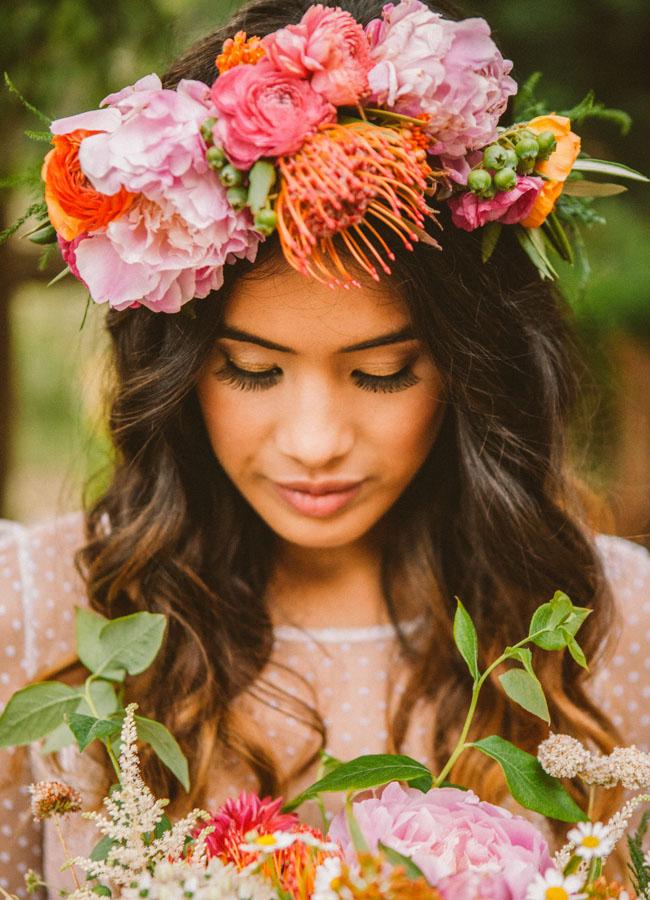 tropical wedding ghirlanda