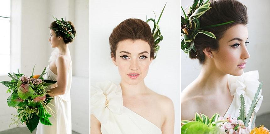 tropical wedding greenweddingshoes