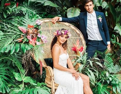 Tropical Wedding ispirazioni esotiche