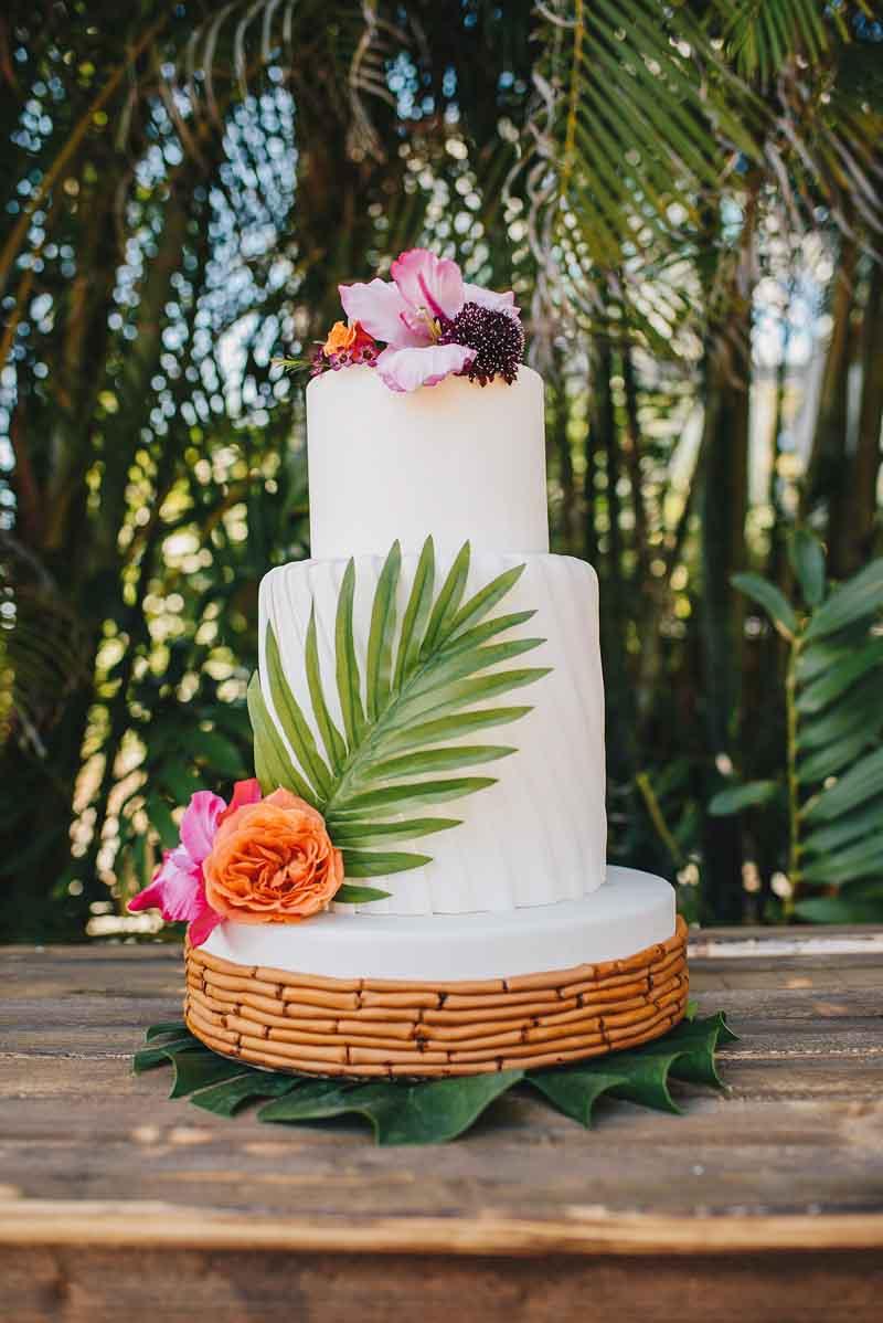 tropical wedding orangeblossombride