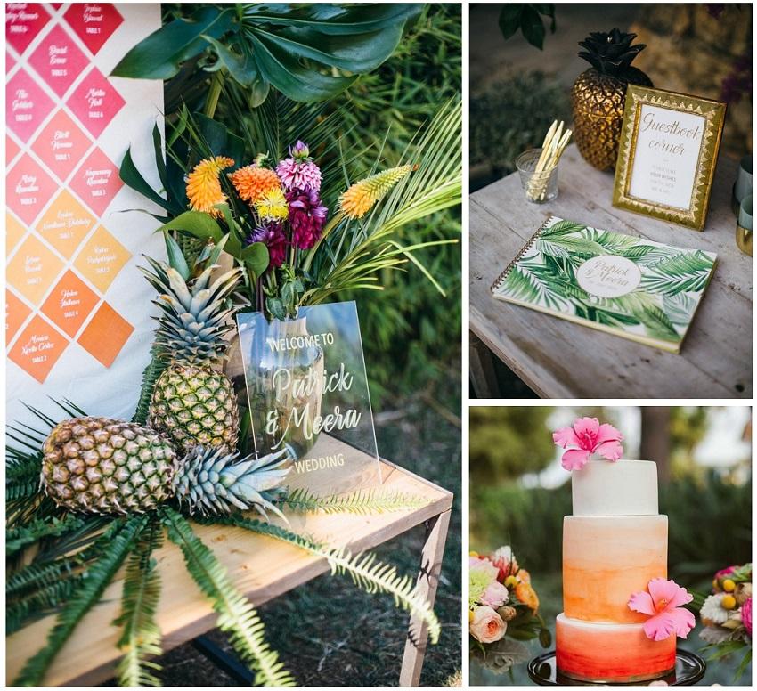 tropical wedding rockmywedding 4