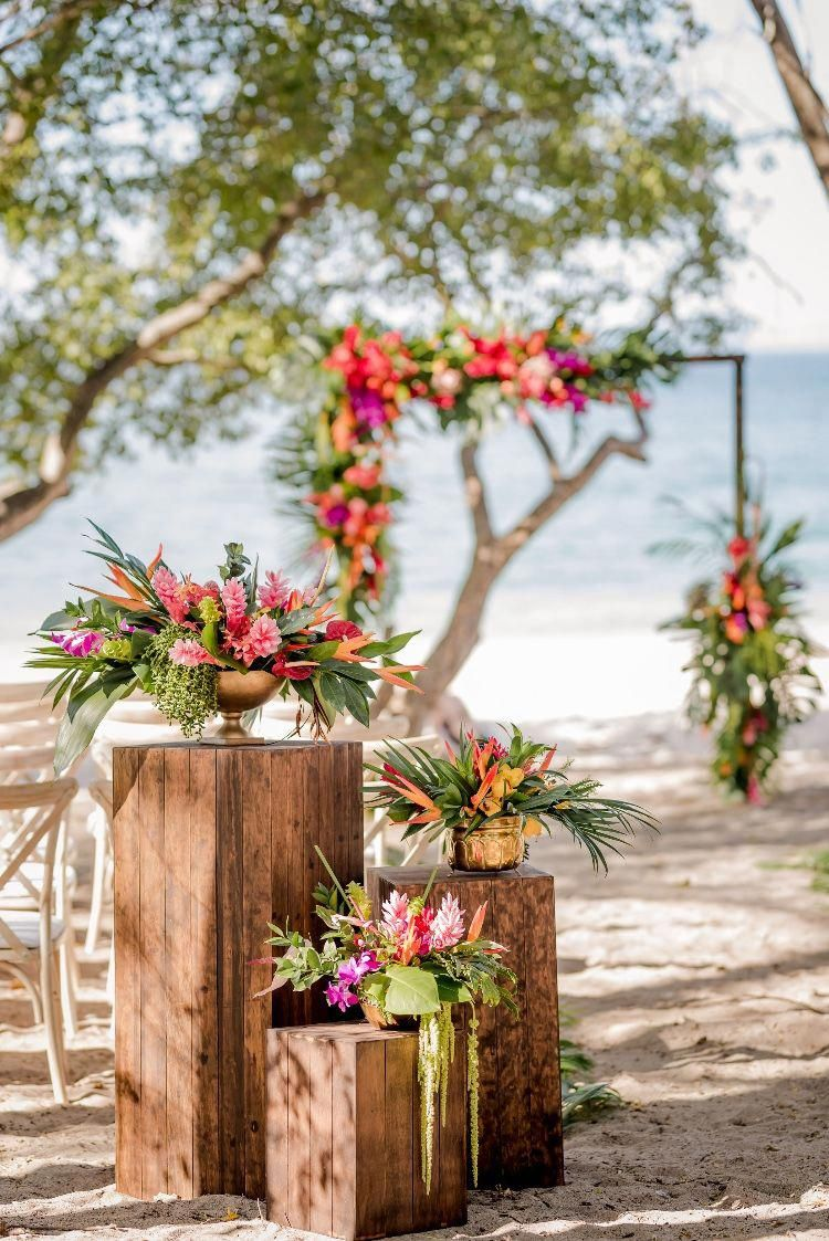 tropical wedding weddingchicks 2