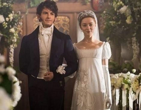 Bridgerton ispirazione perfetta per nozze glam