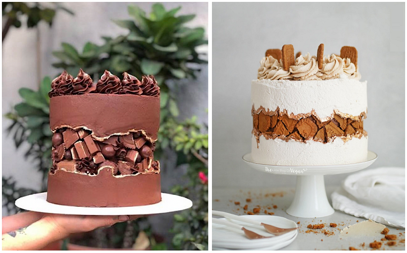 torta con faglia cakewrecks